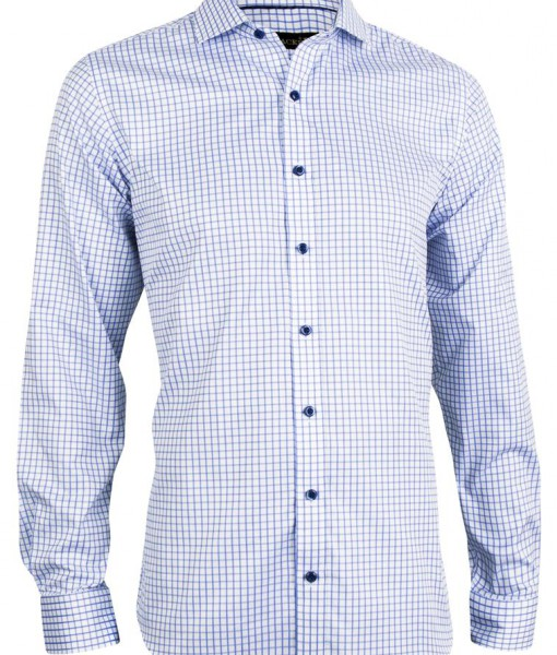 TRACKER EXCLUSIVE WIDE CHECK BUSINESS SHIRT 1